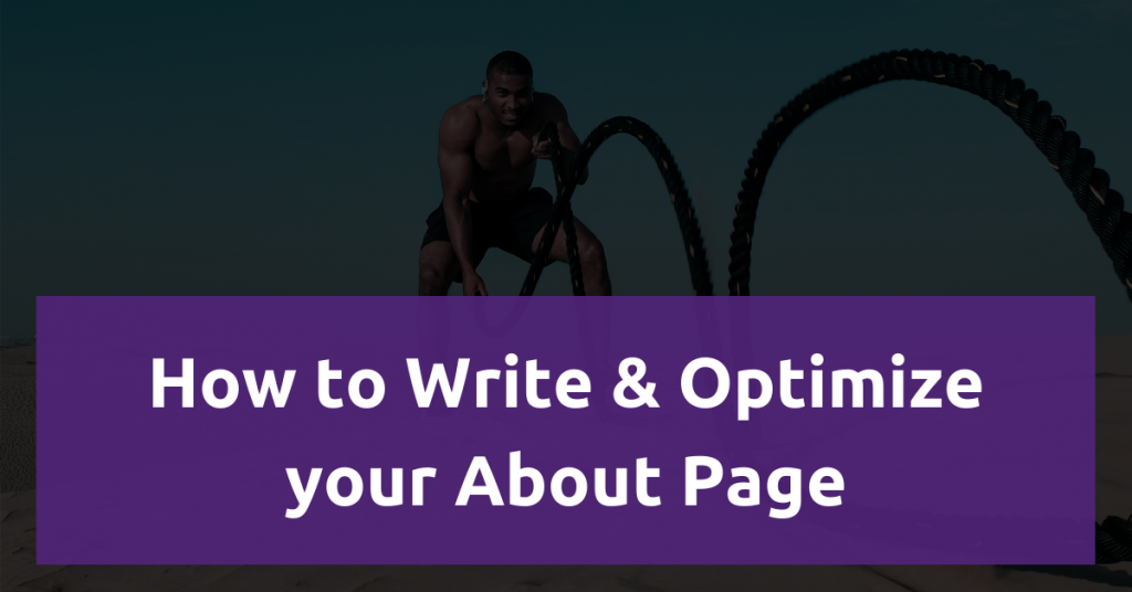 Featured image: How to Write & Optimize your About Page