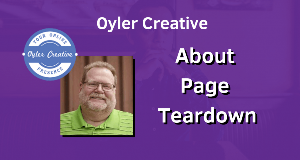 About Page Teardown
