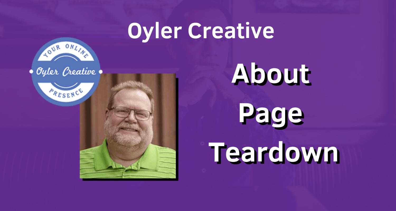 About Page Teardown