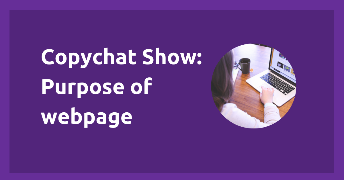 Featured Image: Copychat purpose of web page