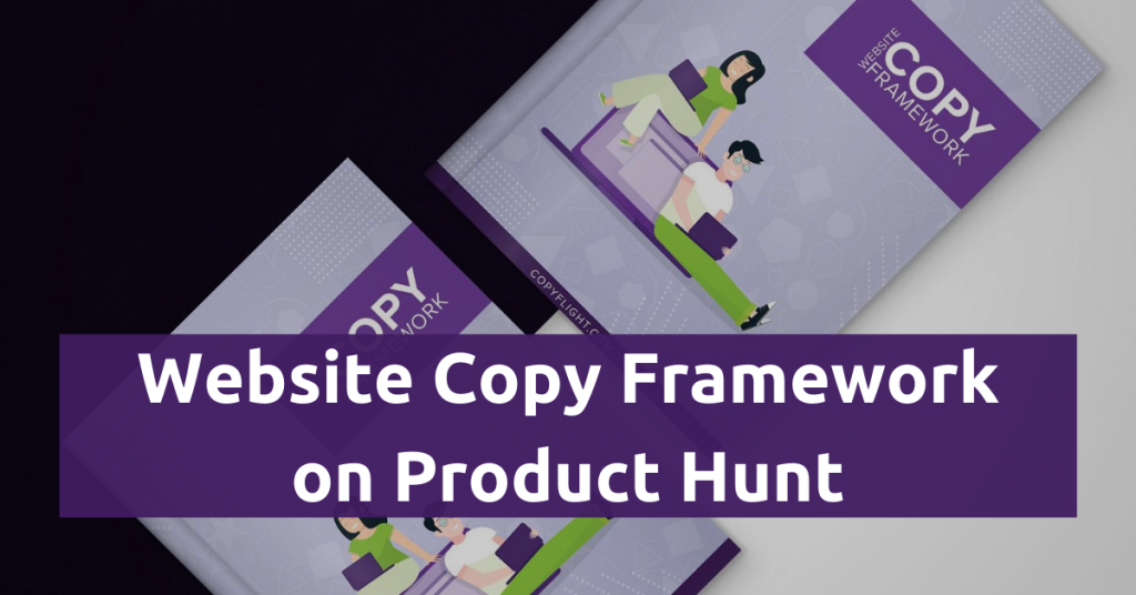 Website Copy Framework on Product Hunt