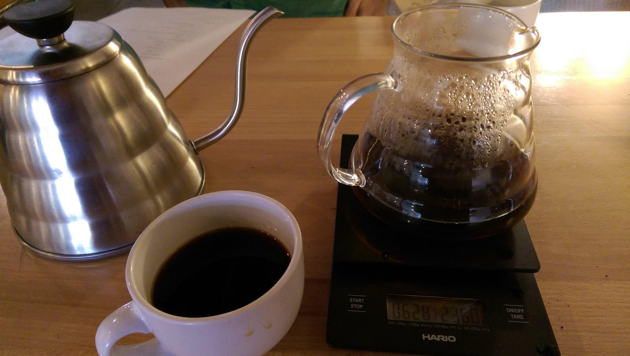 Did I tell you that I'm a coffee snob?